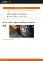 Skifte Stabstag VW GOLF: værkstedshåndbog