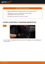Hvordan man udskifter støddæmpere i bag på BMW E46 Cabriolet