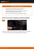 Come sostituire gli ammortizzatori della sospensione posteriore su BMW E46 Cabrio