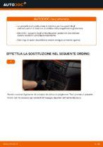 Come sostituire un supporto posteriore dell'ammortizzatore sull' BMW E46 Cabrio