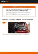 Come sostituire le pastiglie dei freni a disco posteriori BMW E46 Cabrio