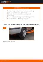 Replacing Top mount: pdf instruction for SKODA FABIA