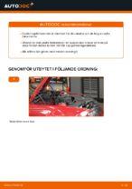 Så byter du ut nedre arm på främre individuell fjädring på BMW E46 Cabriolet