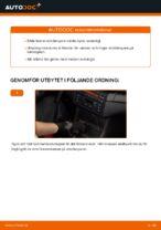 Så byter du bakre stötdämpare på BMW E46 Cabriolet