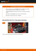 Hur man byter ut en främre bromsskiva på BMW E46 Cabriolet