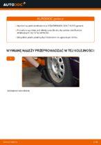 Jak wymienić i wyregulować Drążek wspornik stabilizator VW GOLF: poradnik pdf