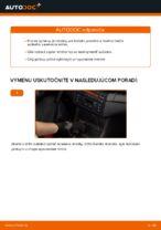 Ako vymeniť ložisko zadného tlmiča na aute BMW E46 Cabrio