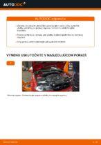 Ako vymeniť predné brzdové platničky kotúčovej brzdy na BMW E46 Cabrio