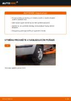 Jak vyměnit ložisko zadního tlumiče na autě Skoda Fabia 6Y5
