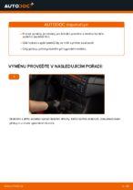 Jak vyměnit ložisko zadního tlumiče na autě BMW E46 Cabrio