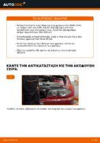 Πώς αντικαθιστούμε οπίσθιους δίσκους φρένων σε BMW E46 Cabrio