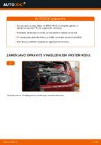 Kako zamenjati zavorne kolute na zadnjem delu pri BMW E46 Cabrio