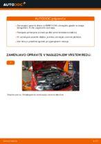Kako zamenjati zavorne kolute na sprednjem delu pri BMW E46 Cabrio