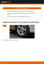 Kako zamenjati prednjo pesto na BMW E39