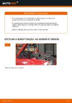 Como substituir o braço inferior da suspensão independente dianteira em BMW E46 Cabrio
