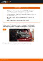 Como substituir os discos de travão traseiros no BMW E46 Cabrio