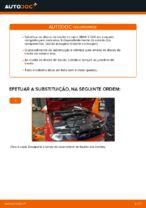 Como substituir os discos de travão dianteiros no BMW E46 Cabrio