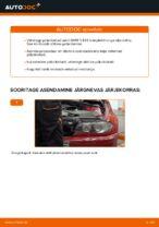 Kuidas asendada BMW E46 Cabrio tagumisi pidurikettaid