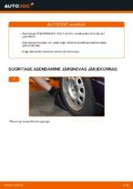 Paigaldus Stabilisaatori otsavarras VW GOLF III (1H1) - samm-sammuline käsiraamatute