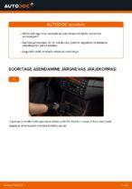 Kuidas vahetada tagumise suspensiooni amortisaatoreid autol BMW E46 Cabrio