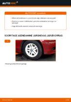Online tasuta juhised kuidas vahetada Stabilisaatori Puksid BMW 3 Convertible (E46)