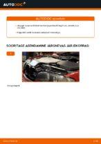 Kuidas vahetada mootori õhufiltrit autol BMW E46 Cabrio