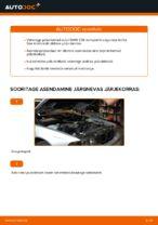 Kuidas asendada BMW E39 esimesi pidurikettaid