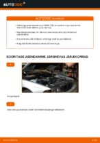 Kuidas asendada BMW E39 tagumisi pidurikettaid