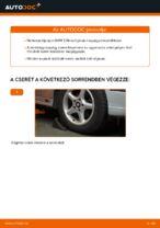 BMW első bal jobb Kerékcsapágy készlet cseréje csináld-magad - online útmutató pdf