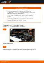 Kā nomainīt un noregulēt Bremžu diski BMW 5 SERIES: pdf ceļvedis