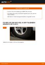 Wie ersetze ich eine vordere Koppelstange am BMW E39