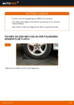 Wie der Austausch der hinteren Druckstangen beim BMW E39 funktioniert