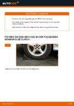 Wann Koppelstange Stabilisator tauschen: PDF Anweisung für BMW 5 (E39)