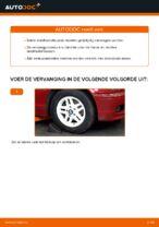 Hoe u de rubbers van de voorste stabilisatorstang van een BMW E46 Cabrio kunt vervangen