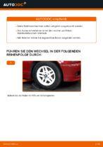 Wie der Austausch von Buchsen des vorderen Stabilisators bei BMW E46 Cabrio-Autos funktioniert
