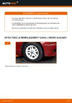 Comment remplacer des douilles pour la barre stabilisatrice avant sur une BMW E46 Cabriolet