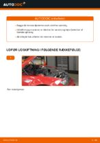 Hvordan forreste fjederben udskiftes på BMW E46 Cabriolet