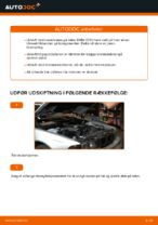 Hvordan bremseskiverne foran på BMW E39 udskiftes