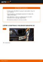 Hvordan man udskifter kabineluftfilter på BMW E46
