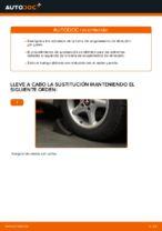 Cómo sustituir los extremos de la barra de acoplamiento de dirección en BMW E39