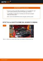 Come sostituire le pastiglie dei freni a disco anteriori BMW E46 Cabrio