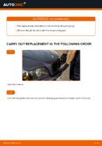 Replacing Spark Plug BMW 3 SERIES: free pdf