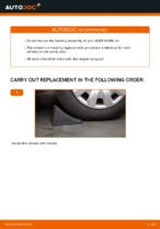 rear and front Wheel bearing BMW 1 Series | PDF replacement manual