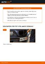 Så byter du kupefilter på BMW E46