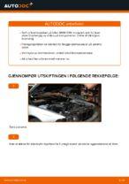 Hvordan bytte fremre bremseskiver på BMW E39