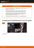 Jak wymienić filtr kabinowy w BMW E46