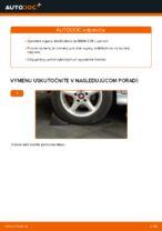 Ako vymeniť zadnú vzperu stabilizátora na BMW E39
