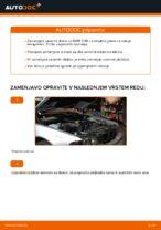 Kako zamenjati zavorne kolute na zadnjem delu pri BMW E39