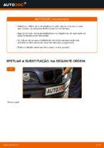 Como substituir um filtro de ar de habitáculo em BMW E46