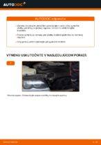 Ako vymeniť predné brzdové platničky kotúčovej brzdy na BMW E46 Touring